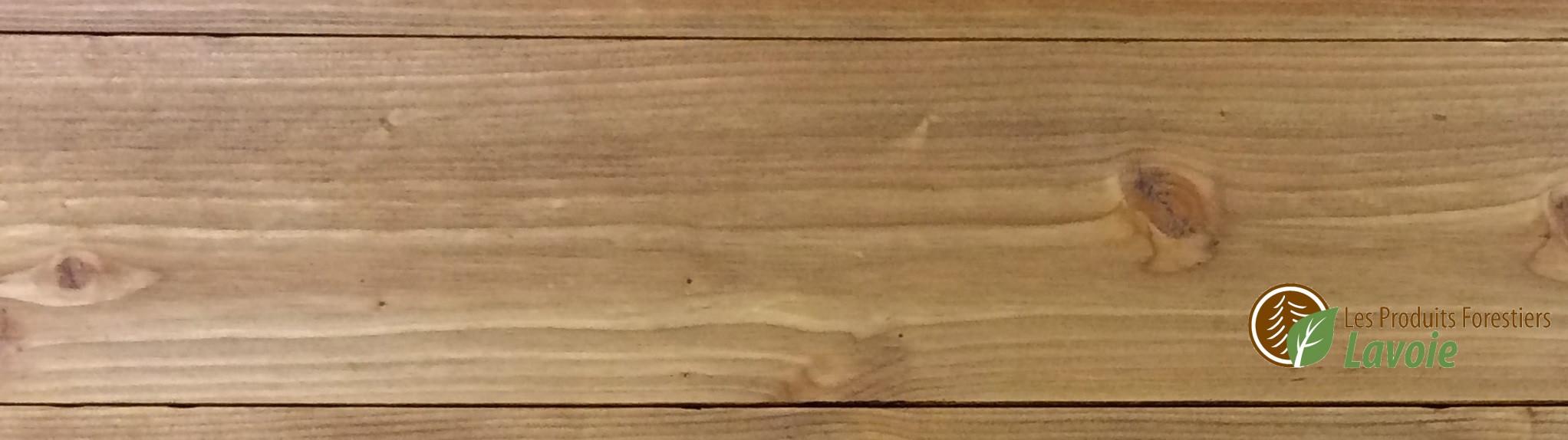 planche de mélèze
