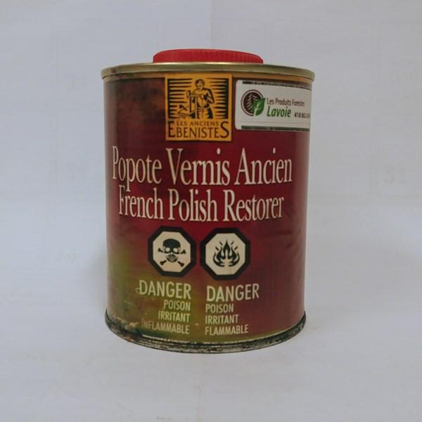 Popote vernis ancien – Les anciens ébénistes Format : 450 ml.