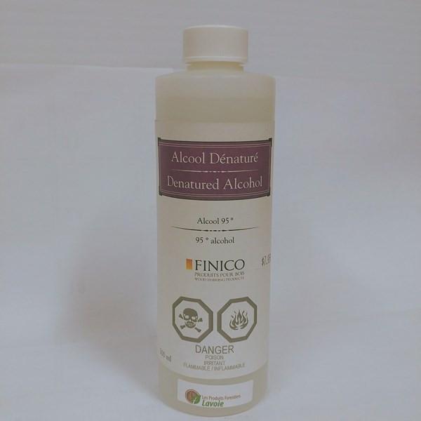 Alcool dénaturé – Finico Format : 500 ml, 946 ml.